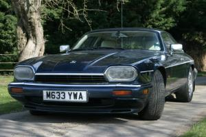 Beautiful 1995 JAGUAR XJS 4.0 Celebration Coupe Automatic Blue/Cream