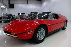 1974 MASERATI BORA 4.9, 20,310 ORIGINAL MILES, EUROPEAN BUMPER CONVERSION!