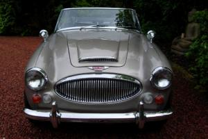 Austin Healey 3000 in the original Golden Beige, Extremely Rare For Sale 1967