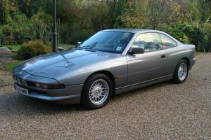 1992 BMW 850i 54500 miles from new MANUAL 6 SPEED GEARBOX SILVER 850 8 SERIES