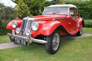 1954 MG TF 1250 matching numbers XPAG engine and chassis
