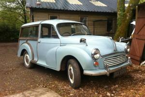 69 Morris Minor Traveller For Sale, lovingly owned for the last 20 years.