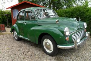 MORRIS MINOR 1960 FULL TAX AND TEST BRILLIANT DAILY DRIVER RARE 4 DOOR
