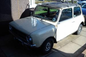 1981 MINI CLUBMAN SALOON BEIGE BRITISH LEYLAND-PROJECT, SPARES OR REPAIR