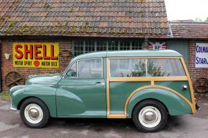 MORRIS MINOR 1000 TRAVELLER 19671098cc EXCELLENT CONDITION ALMOND GREEN