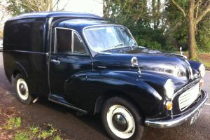 1970 MORRIS VAN Morris Minor Van MOT and Tax