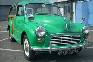 Morris Minor Traveller 1964 - Java Green