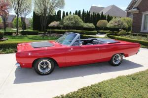 1968 Road Runner Convertible Creation 440  6 Pack Restored Gorgeous HOT Show Car