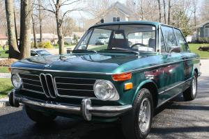 1972 BMW 2002 Tii Excellent condition, Green with Brown interior.