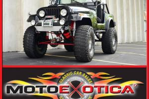 """1983 AMC JEEP CJ-MOUNTAIN CLIMBER-38"""" TIRES-WARN WINCH-RANCHO SUSPENSION-AWESOME"""