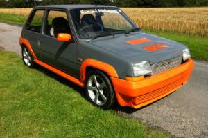 Renault 5 GT Turbo conversion track day/show car
