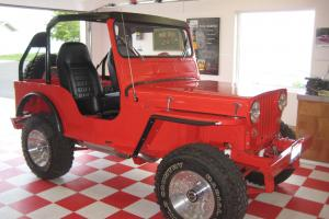 1952 Jeep CJ-3A Very clean, with Buick V6 engine, Off road special, Restored.