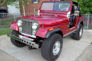 1980 Jeep CJ 7 CJ7 Laredo 304 V8 Show Winner