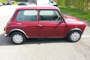 1990 ROVER MINI MAYFAIR AUTO RED IN EXCELLENT CONDITION