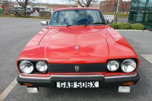 1981 RELIANT SCIMITAR GTE 2.8L RED