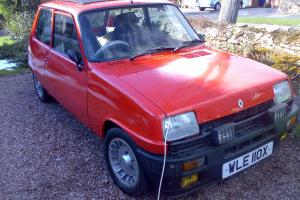 1981 RENAULT 5 GORDINI alpine .solid car, huge folder, turbo alloys classic  Photo