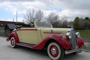 1938 Humber Imperial Three Position Drophead Coup Photo