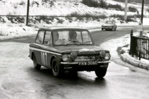 1965 HILLMAN IMP WORKS RALLY CAR FRW306C (1966 MONTE CARLO RALLY)
