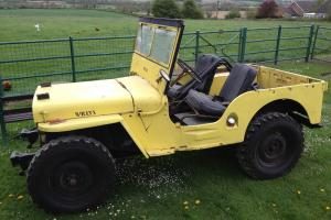 WILLYS JEEP - 1946 CJ2A - PART RESTORED