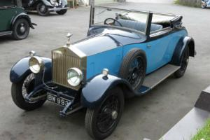 1926 Rolls-Royce 20hp Dr Photo