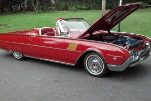Classic Ford Thunderbird Roadster Convertible 8 Cylinder Auto 3K Miles
