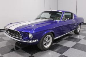 289 CI RESTO-MOD FASTBACK, FRONT DISC, UPGRADED SUSPENSION, LEATHER, IPOD!!