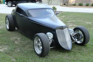 1934 FORD SPEEDSTAR BY RATS GLASS AND ALLOWAY CUSTOM PROJECT NEEDS COUPE