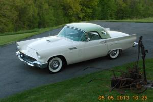 1957 Thunderbird, Rare Willow Green/Colonial White, Loaded with Options Ca. Car