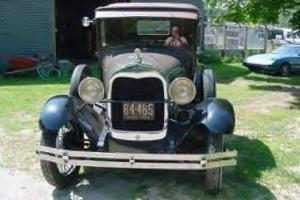 Ford Model A, 1929, Sport Coupe