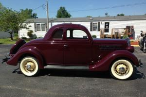 1935 Ford 5 Window Coupe V-8 Complete Restoration