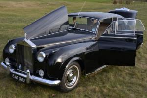1959 Rolls Royce Silver Cloud 1 with power steering.  Photo