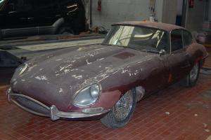 Jaguar E Type Series 1 3.8 FHC 1963