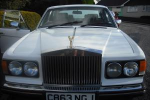 1984 Rolls Royce White Silver Spirit  Photo
