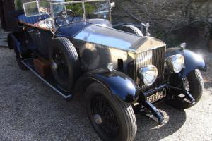 1926 Rolls Royce Phantom 1 Tourer.  Photo