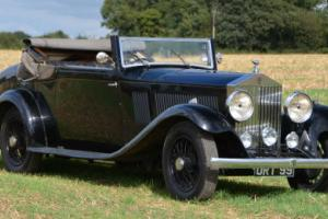 1933 Rolls Royce 20/25 Hooper 3 position Drophead.  Photo