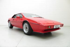 A Sensational and Cherished Lotus Esprit Series 3 with 42,913 Miles from New