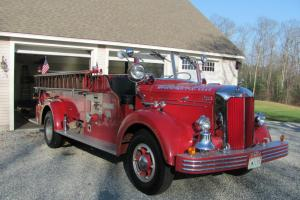 1950 MACK FIRE TRUCK Photo