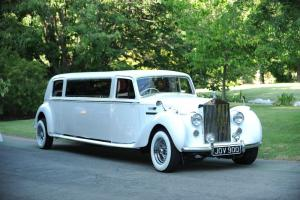"1949 Bentley Mark VI Saloon Chassis 100"" Stretch Limousine"