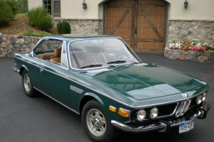 1971 BMW 2800 CS Agave/Tan  - excellent quality three owner car
