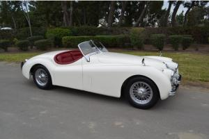 54 Jag XK120 2-seat roadster (OTS). Concours condition. Ready to show or drive