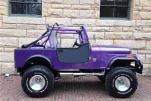 CJ7 Renegade 401 V8 Auto Soft-Top Purple Blue Power PS 360 CJ5 Wrangler Jeep 35""