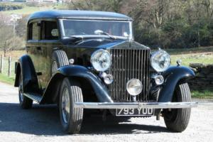 1936 Rolls-Royce Phantom III Inskip Saloon 3AZ190  Photo