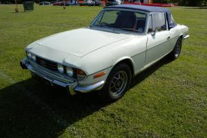 TRIUMPH STAG 1971 4 SPEED MANUAL  Photo