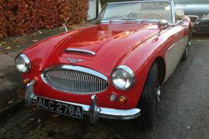 AUSTIN HEALEY 3000 MK IIA BJ7 (1962) LHD - Red over Cream