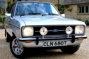 BREATHTAKING 1978 Mk II FORD ESCORT 1.6 GHIA JUST 9,000 MILES FROM NEW.