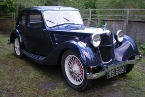 1934 Riley 9 Kestrel sports saloon