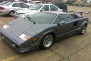 1989 Lamborghini Countach 25th Anniversary Iconic Car, Rare Silver color