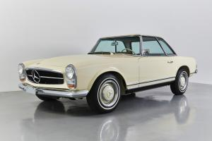 1967 MERCEDES BENZ 230SL CONCOURS QUALITY RESTORED CA ONE OWNER CAR WITH HISTORY