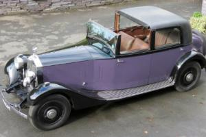 1932 Rolls-Royce 20/25 Barker Sedanca de Ville GMU17  Photo