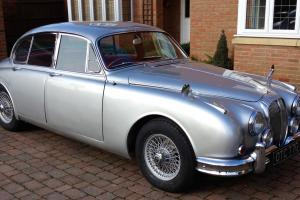 1968 DAIMLER 250 V8 AUTO PAS SILVER  Photo